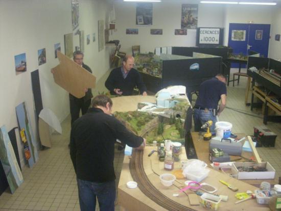 Préparation des panneaux de bois