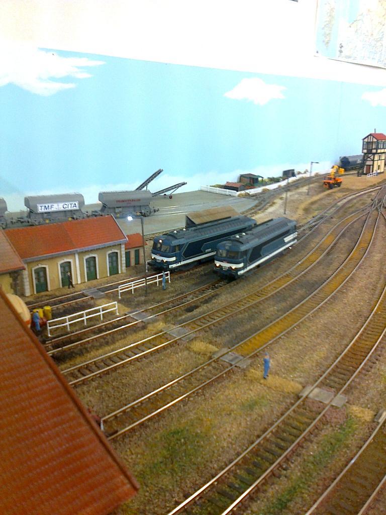La gare de Gardehat: relais diesel