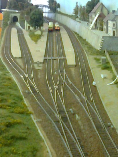 vue sortie sud de la gare